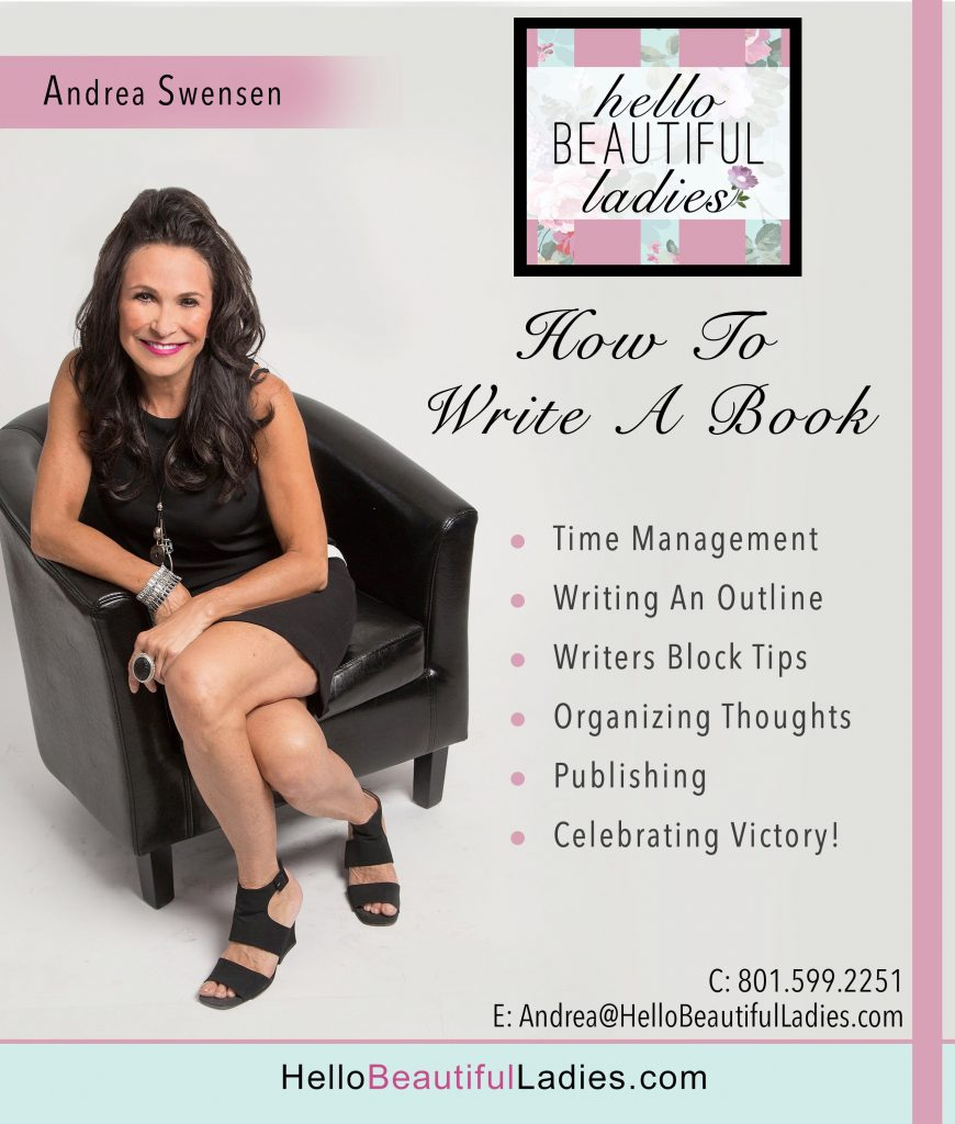FREE Ask Andrea  – How To Write A Book