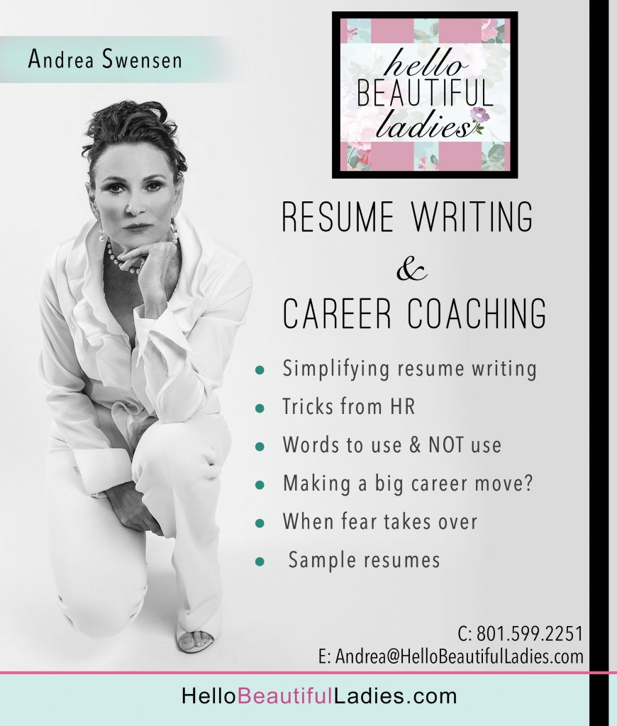 FREE ASK ANDREA – CAREER COACHING & RESUME WRITING