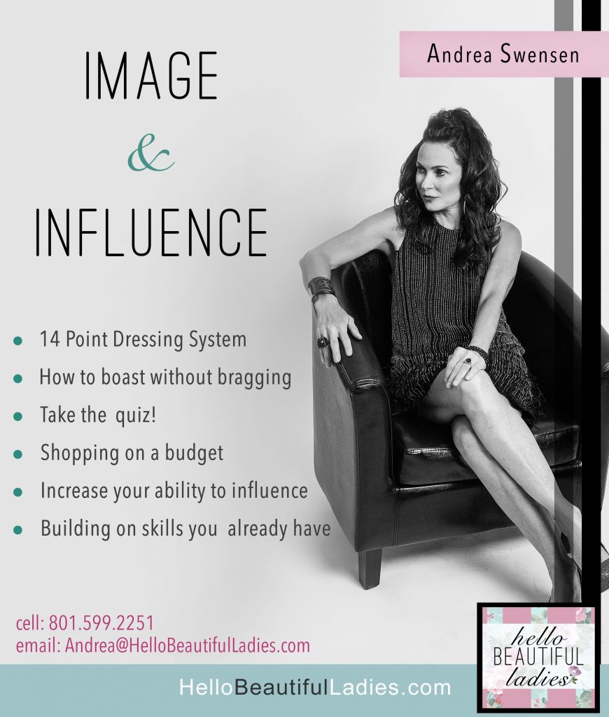 FREE ASK ANDREA – IMAGE & INFLUENCE DRESS FOR SUCCESS