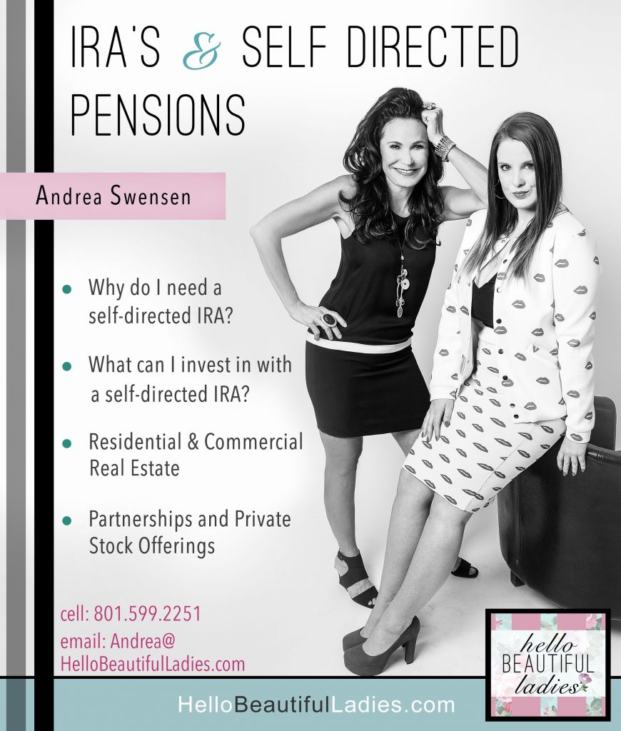 FREE  ASK ANDREA – Guide to Self Directed Pensions & IRA's